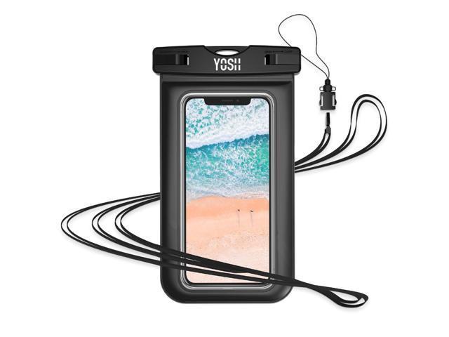detailed look 7b6f3 d905f YOSH Waterproof Phone Pouch Waterproof Phone Case Cell Phone Dry Bag  Underwater Phone Pouch Waterproof Case Compatible with iPhone XR XS X 8 7 6  6S ...