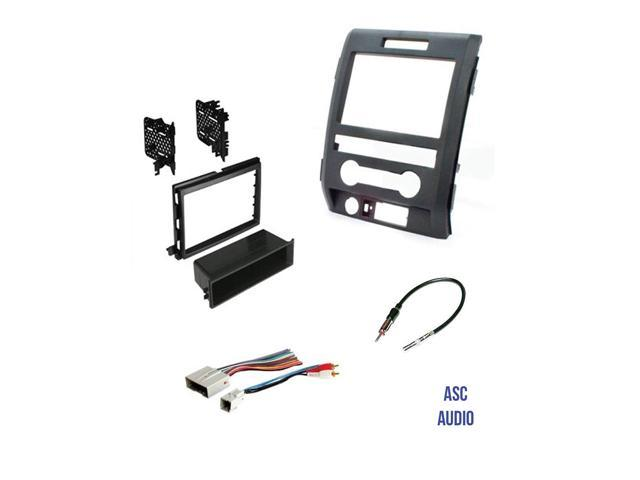 ASC Audio Car Stereo Radio Install Dash Kit, Wire Harness, and Antenna on aftermarket stereo adapter box, aftermarket engine harness, jvc radio harness, 2012 dodge ram radio harness, aftermarket stereo color codes, aftermarket wire harness, aftermarket radio with navigation, aftermarket radio antenna, aftermarket radio connectors, stereo harness,
