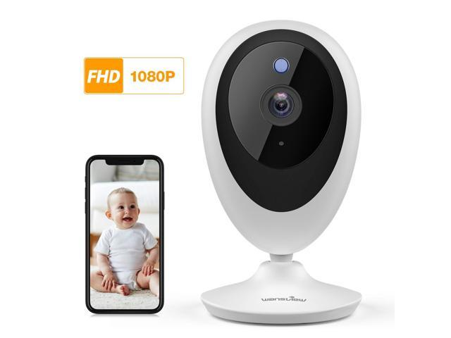 Baby Monitor, Wireless WiFi Home Security System 1080P FHD Wansview for  Elder and Pet Camera with Motion Detection, 2 Way Audio, Works with Alexa,  TF