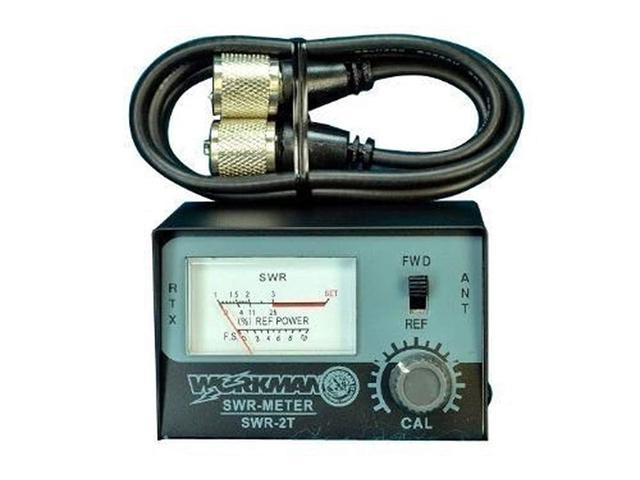SWR METER for CB Radio Antennas with 3' Jumper cable - Workman SWR2T &  CX-3-PL-PL - Newegg com