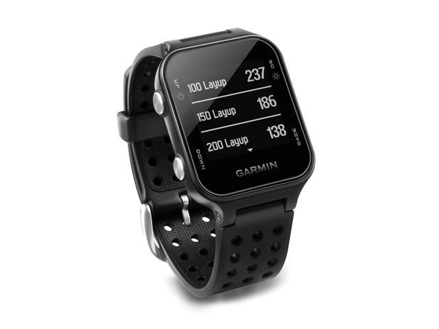 Garmin Approach S20, GPS Golf Watch with Step Tracking, Preloaded Courses,  Black - Newegg com