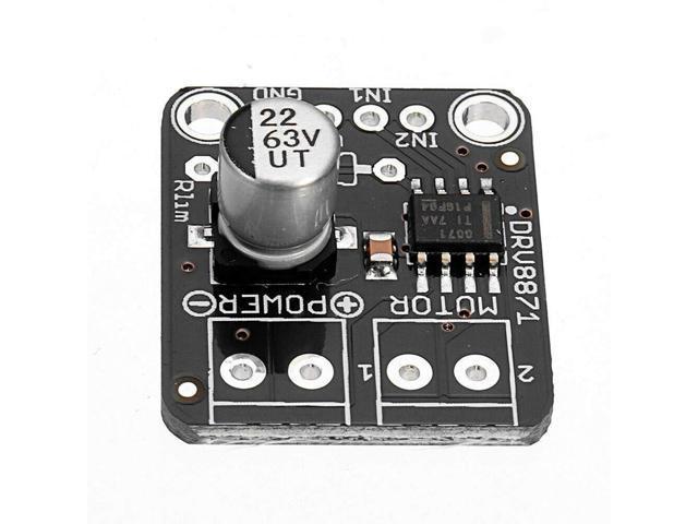 SODIAL DRV8871 H-Bridge DC Motor Driver Breakout Board Pwm Control Module  3 6A for Arduino - Newegg com