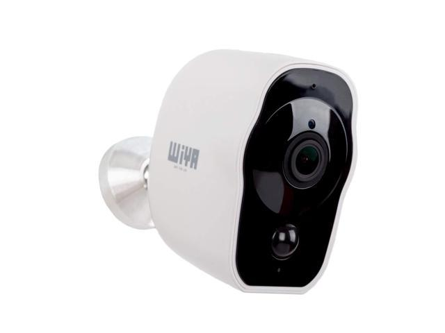 Wireless Rechargeable Battery Powered Camera, WiYA 2 4G WiFi Wire-Free  Security Camera HD for Outdoor/Indoor, Home Surveillance Camera with