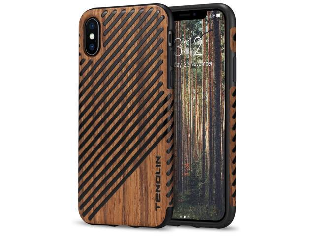 iphone xs case wood