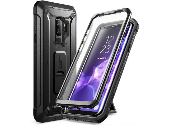 brand new d7b23 b4a9f SUPCASE Kickstand Rugged Case for Galaxy S9 Plus, with Built-in Screen  Protector Shockproof Cover for Samsung Galaxy S9 Plus 6.2 inch 2018 Release  ...