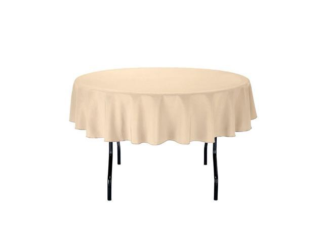 70 Inch Round Table Cloth.Gee Di Moda Tablecloth 70 Inch Round Tablecloths For Circular Table Cover In Beige Washable Polyester Great For Buffet Table Parties Holiday