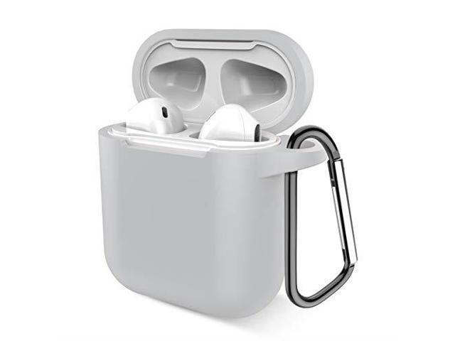 huge selection of 2ca9e b98bf Airpods Case Music tracker Protective Thicken Airpods Cover Soft Silicone  Chargeable Headphone Case with AntiLost Carabiner for Apple Airpods 1amp2  ...