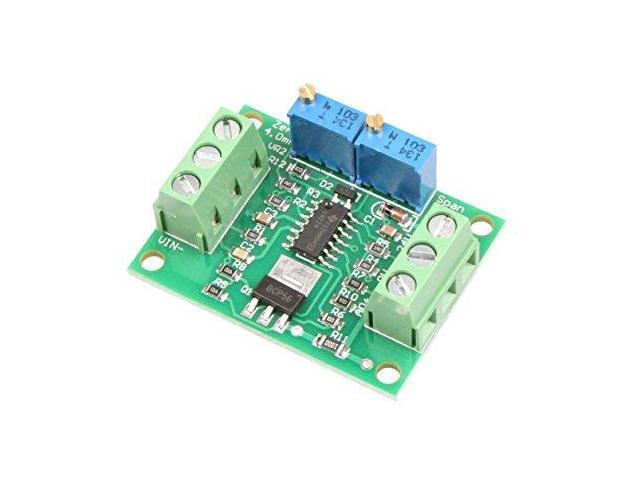 NOYITO Voltage to Current Module 0-2.5V 3.3V 5V 10V 15V 24V Voltage to 0-20mA 4-20MA Current Signal Generator Moudle 0-5V to 0-20mA