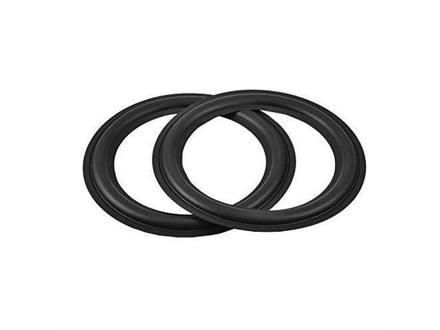 Facmogu 2pcs 36999mm Speaker Foam Surround Repair Kit Black Perforated  Rubber Edge Rings Replacement Parts Speaker Repair DIY 4 - Newegg com