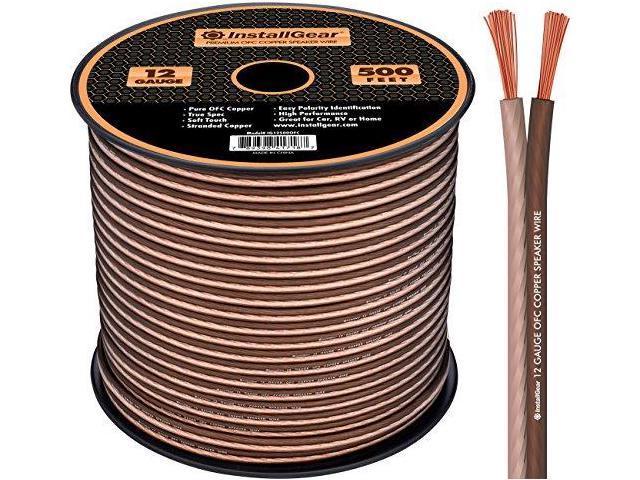 touch audio wiring installgear 12 gauge speaker wire 999 oxygenfree copper true spec  installgear 12 gauge speaker wire 999