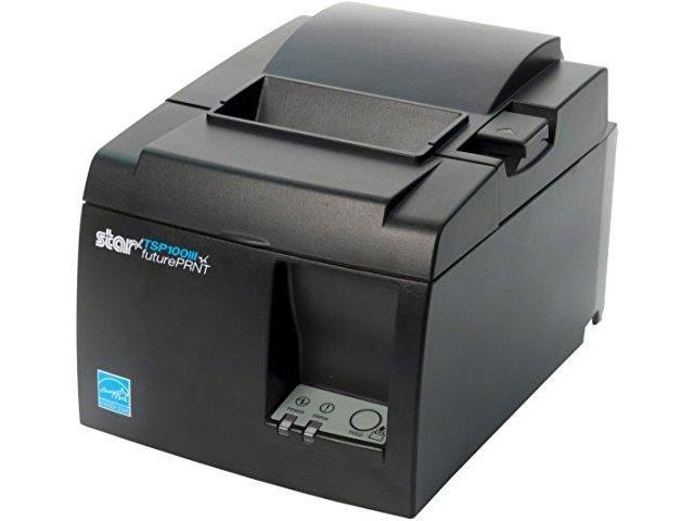 Star Micronics TSP143IIIBi Bluetooth Thermal Receipt Printer for iOS  Android and Windows with Autocutter and Internal Power Supply Gray -  Newegg com