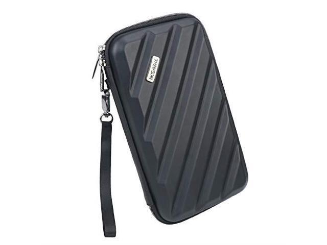 339654b067f0 Iksnail Electronics Organizer Travel Case Hard Gadget Accessories Storage  Bag Carrying Pouch for USB Cable SD Card USB Drive Hard Drive Phone Charger  ...