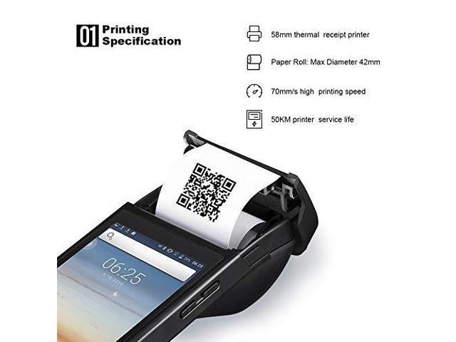 POS Android Terminal MUNBYN Thermal Receipt Printer with 5 inch Touch  Screen Support NFC 3G WiFi Bluetooth for Order Receipt Print - Newegg com