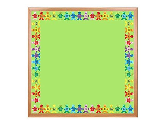 Hygloss Products Alphabet Apples DieCut Bulletin Board Border Classroom  Decoration 3 x 36 Inch 12 Pack - Newegg com