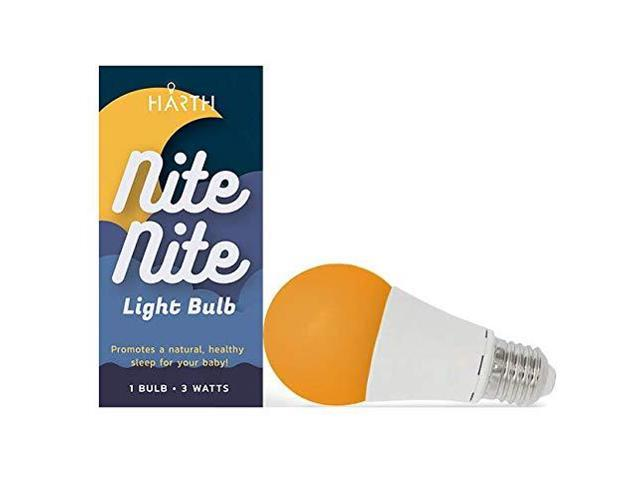 Harth Lighting Nite Nite Light Bulb Sleep Aid Bulb Optimized for Nursery  Lighting Parent Approved No Blue - Newegg com