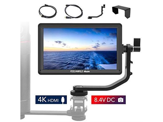 Feelworld Master MA5 5 inch Camera Field Monitor with 4K HDMI 8V DC inOut  Full HD 1920x1080 IPS Video Assist for DSLR - Newegg com