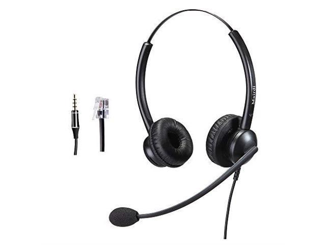 Cisco Headset RJ9 Phone Headset for Cisco IP Phone with Noise Cancelling  Microphone Including 35mm Connector - Newegg com