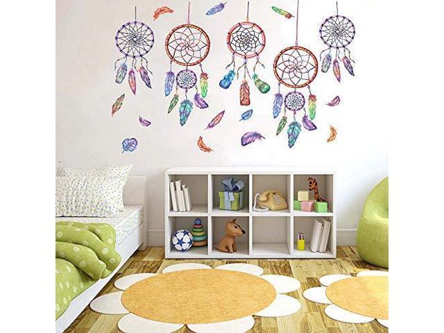 Alphabet Wall Decals H2mtool Removable Animal Abc Wall Stickers For Kids Nursery Room Decor Newegg Com