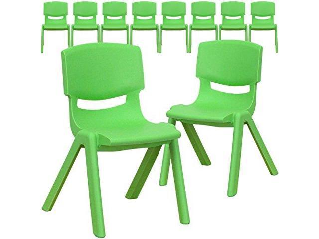 Flash Furniture Blue Plastic Stackable School Chair with 12 Seat Height -  Newegg.com