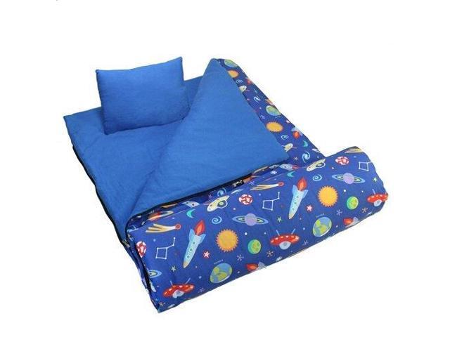 Wildkin Kids Sleeping Bag Wtravel Pillow Camouflage Newegg