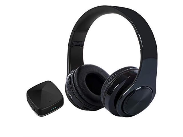 Wireless Headphones for TV Watching with Bluetooth Transmitter amp Receiver  Optical Digital Audio 35mm AUX RCA No Delay Foldable with USB Charging
