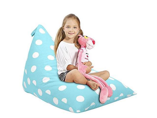 Pleasant Aubliss Stuffed Animal Storage Bean Bag Chair Plush Animal Toy Organizer For Kids Girls And Children Extra Large 23 Inch Long Ykk Zipper Premium Squirreltailoven Fun Painted Chair Ideas Images Squirreltailovenorg