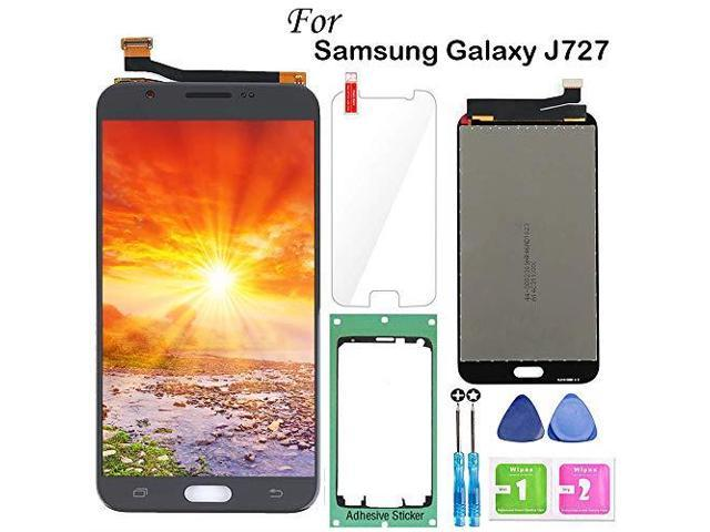 for Samsung Galaxy J7 2017 Screen Replacement BlackLCD Display Touch Screen  Digitizer Assembly for J7 Prime 2017 J727 J727U SMJ727T1 J727R4 J727V
