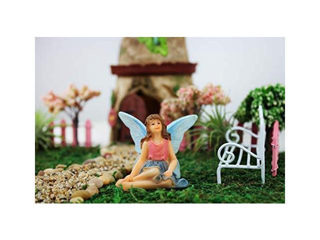 NW Wholesaler Fairy Garden Fairy Figurines Hand Painted Miniature Fairies  Bath Fairy - Newegg com