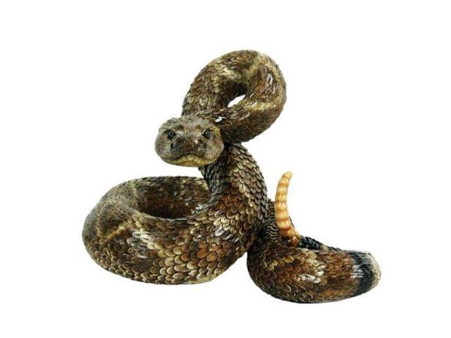 Michael Carr Designs 80057 Western Diamondback Rattlesnake Outdoor Statue  Large 2 Pack - Newegg com