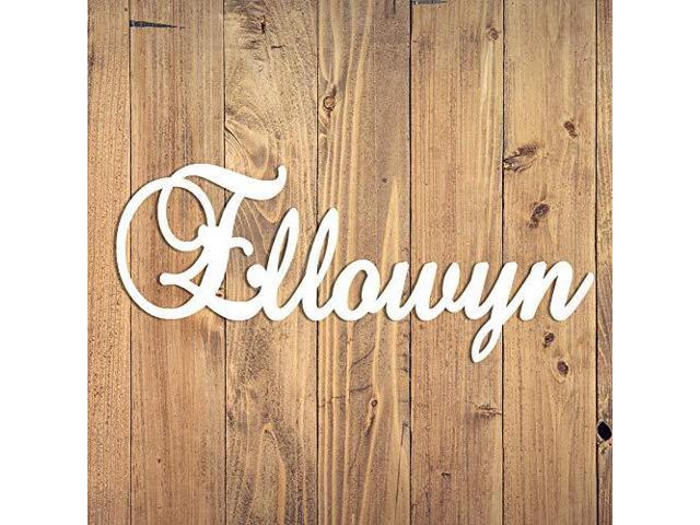 Personalized Wooden Name Sign Custom Baby Name Plaque Letters Nursery Decor Family Name Wood Cutout Neweggcom