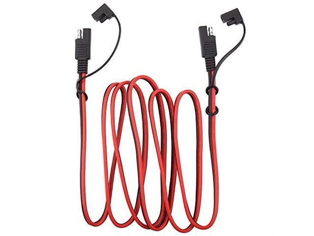 iGreely SAE Power Automotive Extension Cable 2 Pack SAE to SAE Extension on