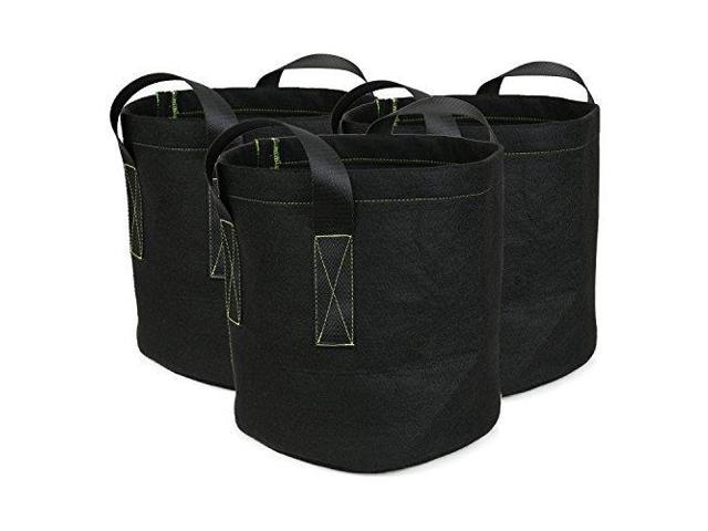 Ipomelo 3pack 5 Gallon Fabric Growing Bags Thickened Garden Pots Plant Container Wsy Nylon Handles Newegg