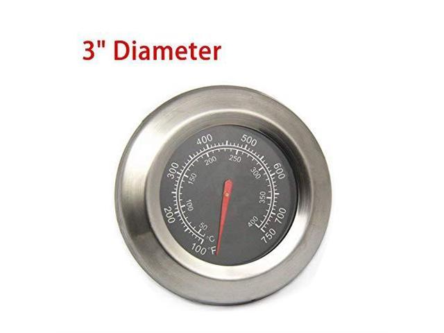 BBQElement Grill Thermometer Temperature Gauge Replacement Parts for Master  Forge BG179A MFA350CNP Temp Gauge Heat Indicator for Outdoor Gourmet