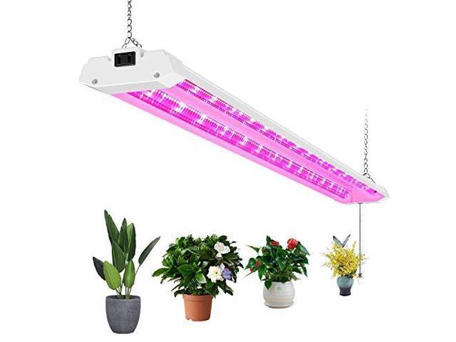 Antlux 4ft Led Grow Lights 50w Full Spectrum Integrated