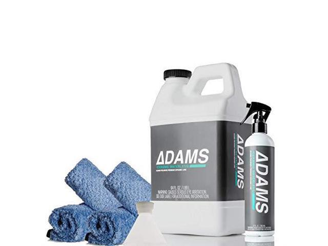 Adams Ceramic Waterless Wash Clean amp Boost The Ceramic Nano Paint  Protection of Boat RV Truck amp Motorcycle Hydrophobic Top Coat Cleaner amp