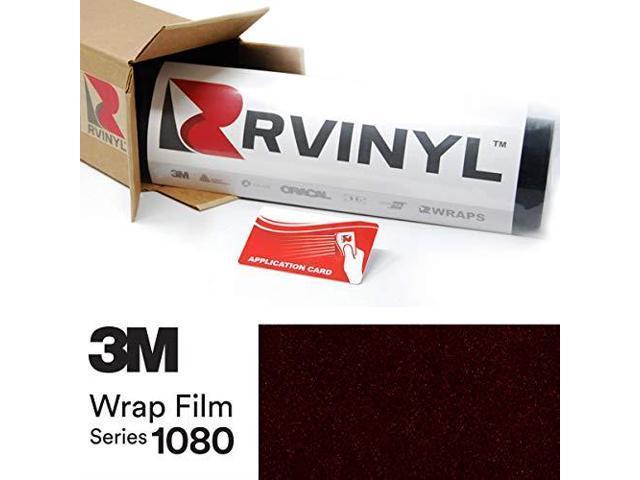 3M 1080 G12 Gloss Black 4in x 6in Sample Size Vinyl Vehicle Car Wrap Film  Sheet Roll - Newegg com