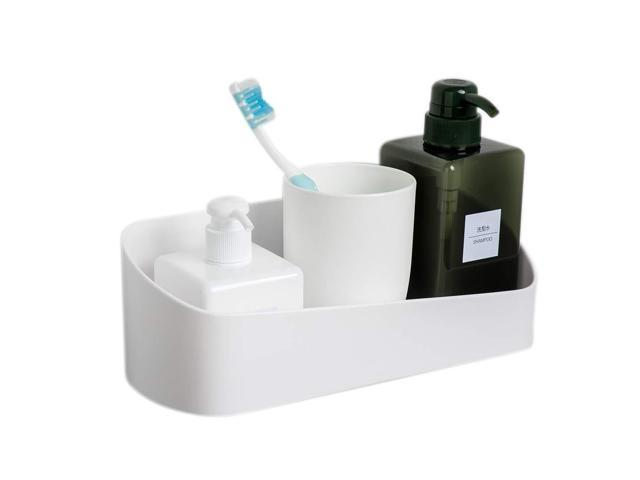 buy popular be4fd 64775 Cosytime Bathroom Wall Shelf,Adhesive No Damage Shelf Wall ...