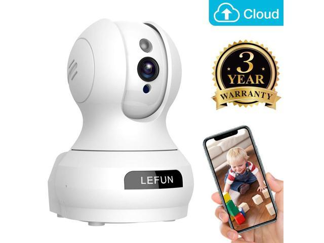 Baby Monitor, Lefun Wireless IP Security Camera WiFi Surveillance Pet  Camera with Cloud Storage Two Way Audio Remote Viewing Pan/Tilt/Zoom Night