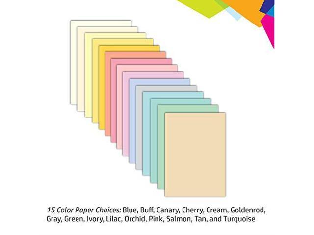8.5x11 Primary 120 Pages Astrobrights Color Paper