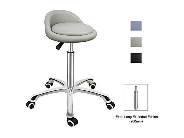 Miraculous Grace Amp Grace Professional Gilder Series With Backrest Comfortable Seat Rolling Swivel Pneumatic Adjustable Heavy Duty Stool For Shop Salon Office Ibusinesslaw Wood Chair Design Ideas Ibusinesslaworg