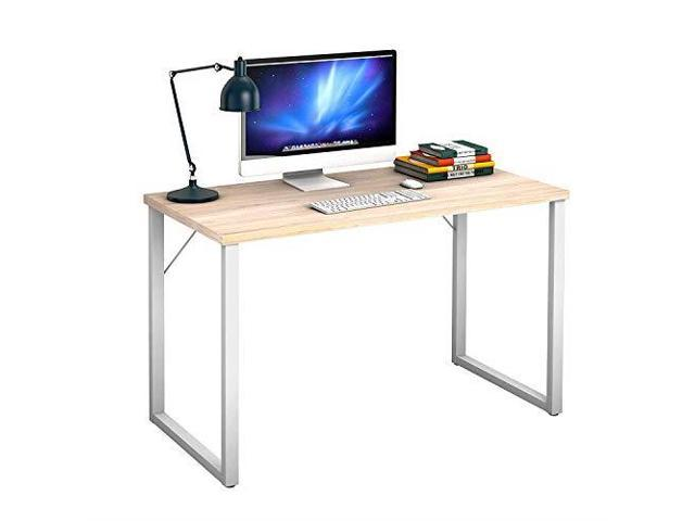 47quot Computer Desk Writing Table PC Laptop Office Desk Study Writing  Modern Table Modern Simple Writing Desk Multipurpose Workstation for Home  and ...