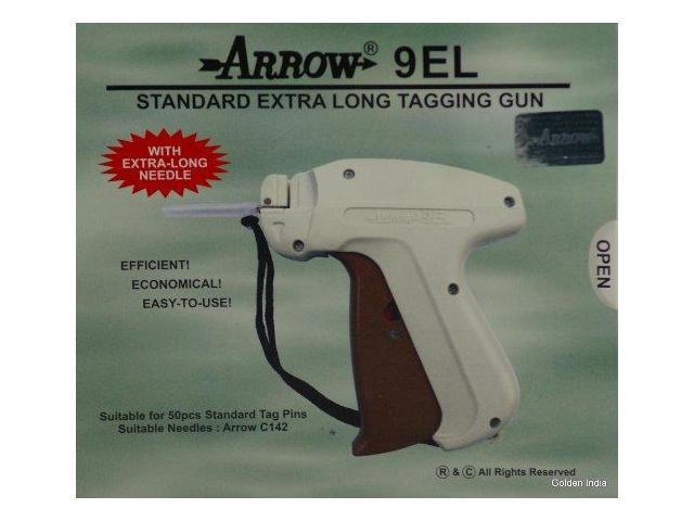 "2000 White Barbs 2/"" Clothing Price Tagging Attacher Arrow FINE Needle Tag Gun"