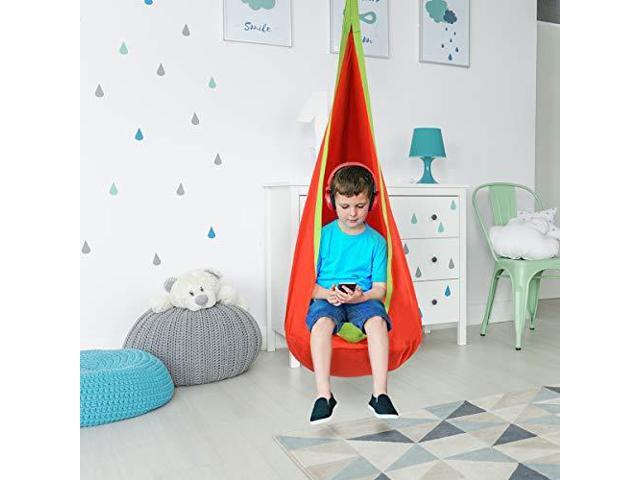 Outstanding Child Pod Swing Chair Tent Nook Indoor Outdoor Hanging Seat Hammock Kids Newegg Com Pabps2019 Chair Design Images Pabps2019Com
