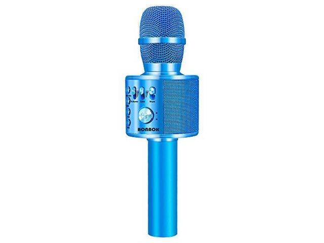 Karaoke Christmas Musical.Wireless Bluetooth Karaoke Microphone3in1 Portable Handheld Karaoke Mic Speaker Machine Christmas Birthday Home Party For Androidiphonepc Or All