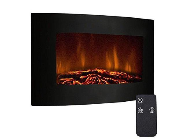 Excellent 35Quot Recessed Electric Fireplace Adjustable Electric Wall Mount Fireplace Heater With Remote Control 750W1500W Black Newegg Com Download Free Architecture Designs Griteanizatbritishbridgeorg