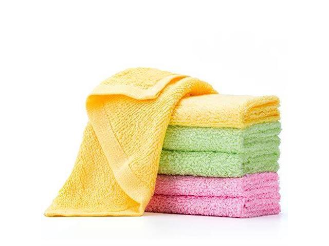 Microfiber Cleaning Cloth Ndash Washcloth Ndash Kitchen Towels Ndash Dish Rags Ndash Dust Wipes Quick Dry Ndash Super Absorbent Ndash Very Soft Lint