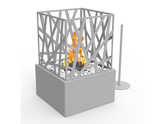 Super Bruno Ventless Indoor Outdoor Fire Pit Tabletop Portable Fire Bowl Pot Bio Ethanol Fireplace In Black Realistic Clean Burning Like Gel Fireplaces Or Download Free Architecture Designs Scobabritishbridgeorg