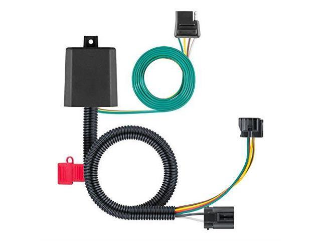 56332 VehicleSide Custom 4Pin Trailer Wiring Harness for Select Hyundai on