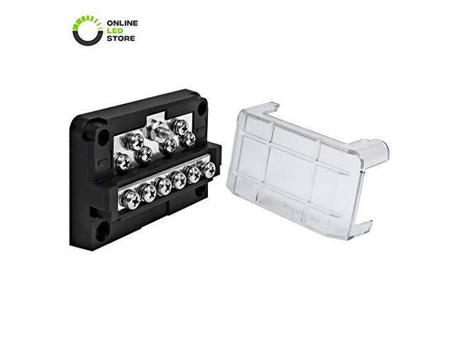 6Way 100A Modular Fuse Box Expandable to 12 Power and 12 Ground LED Ground In Fuse Box on watch dogs box, breaker box, dark box, power box, four box, the last of us box, circuit box, switch box, ground box, style box, generator box, relay box, case box, layout for hexagonal box, clip box, meter box, junction box, cover box, transformer box, tube box,