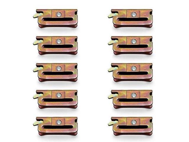 Quantity 6 RV Designer L661 2 Cam F//T and L Handle Lock